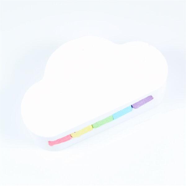 Rainbow Cloud Bath Bomb - Coconut White