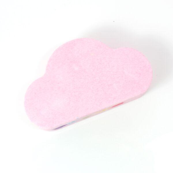 Rainbow Cloud Bath Bomb - Rose Pink