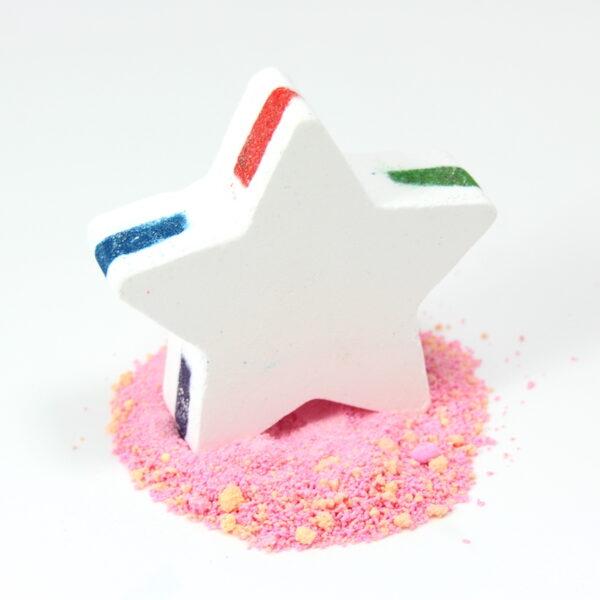 Rainbow Star Bath Bomb