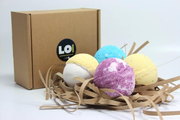 Pampered Pudding Bath Bomb Gift Box
