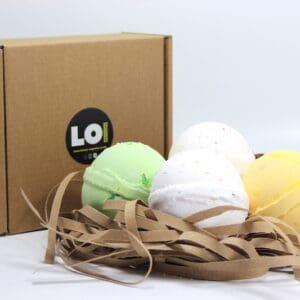 Tropical Island Bath Bomb Gift Box