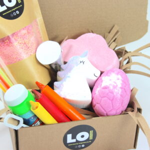 Girls Bath Bomb Party Box